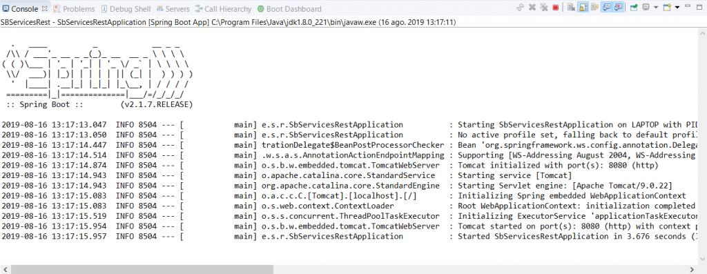 Crear aplicación web con Spring Boot